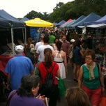 Photo taken at Davies Park Market by Ian K. on 1/8/2011