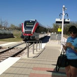 Photo taken at MetroRail - MLK Jr. Station by Katie G. on 3/16/2013