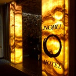 Photo taken at Nobu Hotel by @VegasBiLL on 3/29/2013