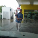 Photo taken at PETRONAS Station by Nor Baizura A. on 4/5/2014