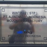 Photo taken at Ajinomoto - Mojokerto Factory by andsisko on 11/11/2014