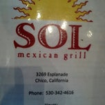 Photo taken at Sol Mexican Grill by Courtney C. on 11/5/2012