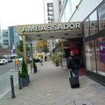 Photo taken at SORAT Hotel Ambassador Berlin by Michael M. R. on 10/25/2013