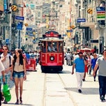 Photo taken at İstiklal Caddesi by Ömer E. on 1/24/2013