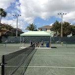 Photo taken at Delray Beach International Tennis Championships (ITC) by Karina L. on 3/19/2014