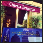 Photo taken at Osteria Bernardo by 100days on 6/28/2013