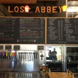 Photo taken at Lost Abbey/Port Brewing by Gregaforce I. on 8/30/2013