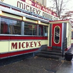 Photo taken at Mickey's Diner by Julie B. on 10/13/2012