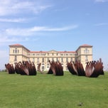 Photo taken at Palais du Pharo by Julien D. on 7/20/2013