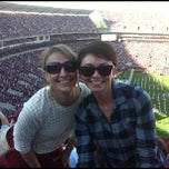 Photo taken at Bryant-Denny Stadium by Kristen F. on 11/11/2012