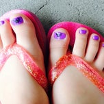 Photo taken at Amy's nails by Brittany F. on 10/26/2013