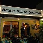 Photo taken at Bruno Bistro Gourmet by Adrian P. on 12/13/2012
