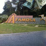 Photo taken at A'Famosa Main Entrance by Nammie K. on 10/13/2012