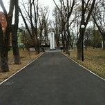 Photo taken at Сквер Воїнів-Інтернаціоналістів by Alex K. on 11/13/2011