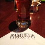 Photo taken at Samuel's Sports Bar & Tavern by Ron M. on 3/22/2013
