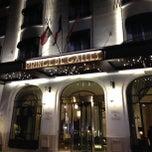Photo taken at Hôtel Prince de Galles by Antonello D. on 7/17/2013