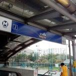 Photo taken at MRT บางซื่อ (Bang Sue) BAN by Chana Chuenson H. on 11/3/2012