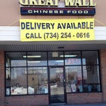 Photo taken at Great Wall Chinese Takeout by PSU-Lion D. on 1/21/2014