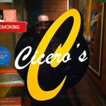 Photo taken at Cicero's by Steve T. on 2/10/2013