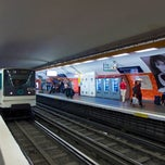 Photo taken at Métro Montparnasse–Bienvenüe [4,6,12,13] by MikaelDorian on 6/7/2013