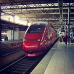 Photo taken at Thalys Terminal — Gare de Bruxelles-Midi / Station Brussel-Zuid by MikaelDorian on 3/20/2013