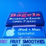 Photo taken at Corey's Bagels by Aaron D. on 10/20/2012