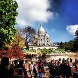 Photo taken at Montmartre by Zach L. on 4/28/2013