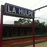 Photo taken at Gare de La Hulpe by Edoardo C. on 9/14/2012