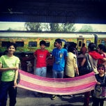 Photo taken at Ghaziabad Railway Station by Irina on 3/26/2013