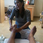 Photo taken at Sanctuary Foot Spa by Ramon V. on 12/8/2012