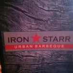 Photo taken at Iron Starr Urban BBQ by Suzanne E J. on 4/6/2013