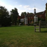 Photo taken at Newnham College by Sertaç S. on 7/26/2014