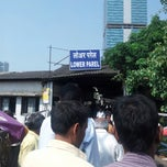 Photo taken at Lower Parel Railway Station by Shrikant P. on 10/18/2012