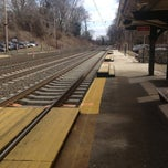 Photo taken at SEPTA St. Davids Station Inbound Platform by Kim K. on 2/21/2013