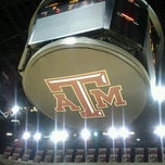 Photo taken at Reed Arena by Stephanie C. on 10/20/2012
