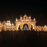 Photo taken at Mysore by Turgay on 10/2/2014