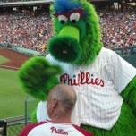 Photo taken at Citizens Bank Park by Steve V. on 6/4/2013