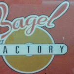 Photo taken at Bagel Factory by Rebecca A. on 3/25/2014