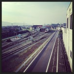 Photo taken at 盛駅 (Sakari Sta.) by Mitsukuni S. on 8/7/2013
