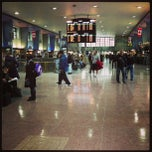 Photo taken at Gare Centrale by Coralie B. on 1/31/2013