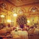 Photo taken at Le Louis XV - Alain Ducasse by Alena S. on 10/13/2012