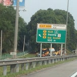 Photo taken at Exit 608 Persimpangan KLIA by Baiyah A. on 3/30/2014
