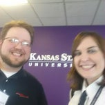Photo taken at Kansas State University Salina by Sabrina Z. on 2/19/2014