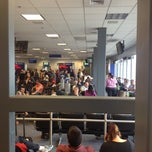 Photo taken at SLC Gate D11 by Ted H. on 5/6/2013