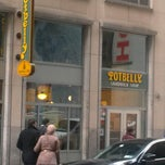 Photo taken at Potbelly Sandwich Shop by Andrew S. on 3/21/2013
