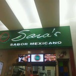 Photo taken at Sara's Sabor Mexicano by Elsibir Alina D. on 6/11/2013