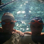 Photo taken at Palm Desert Aquatic Center by Jennifer P. on 1/17/2013
