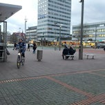 Photo taken at Kurt-Schumacher-Platz by Herman v. on 1/10/2014