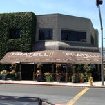 Photo taken at Fratelli Cafe by Sidney N. on 4/22/2013