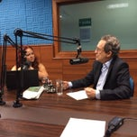 Photo taken at Rádio Bandeirantes 820 AM by João C. on 3/18/2014